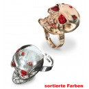 Ring Skull, assorted colors