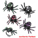 wholesale Toys: Ring Spider, assorted colors
