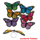 grossiste Bijoux & Montres: papillon Ring, couleurs assorties