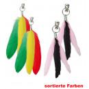 grossiste Cadeaux et papeterie: Boucles  d'oreilles  plumes, couleurs ...