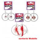 Großhandel Ohrringe: Creolen Köln, sortierte Modelle
