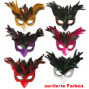 wholesale Toys: Bird feathers  mask, assorted colors