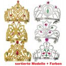 wholesale Toys: Diadem, gold and  silver, assorted models