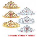 wholesale Toys: Diadem, gold +  silver, assorted models