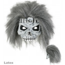 wholesale Toys: Half Mask Zombie with hair, latex