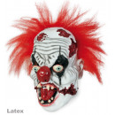 wholesale Toys: 3/4 mask Horror Clown Latex