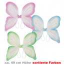 mayorista Juguetes: alas de mariposa,  colores variados, aproximadament