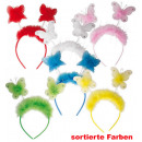 Haarreif  butterflies, assorted colors