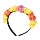 wholesale Hair Accessories: Haarreif Mexican  Totentag, flower yellow-orang
