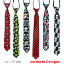 wholesale Gifts & Stationery: Tie Style,  assorted styles, 40 cm length