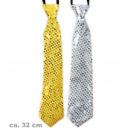 grossiste Cadeaux et papeterie: Tie Silvester, or classé + argent