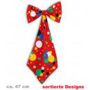 grossiste Cadeaux et papeterie: Géant arc +  cravate, motifs assortis, ca.