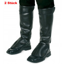 wholesale Shoes: Boot cuffs with Velcro, leather look