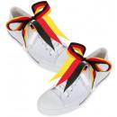 grossiste Cadeaux et papeterie: Chaussure drapeau FAN, paquet de 2