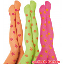 wholesale Fashion & Mode: Pantyhose Flower, assorted colors