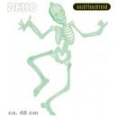 grossiste Farces et attrapes: Deco squelette  lumineux, mobile avec les yeux clig