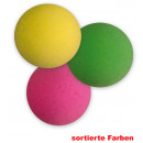 Clownnase  Schaumstoff,  sortierte Farben, ...