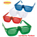 grossiste Jouets: Grille Lunettes  clignotant, couleurs assorties