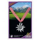 grossiste Bijoux & Montres:Halsband Edelweiss