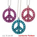 grossiste Bijoux & Montres: Paix de la chaîne,  couleurs  assorties, environ ...