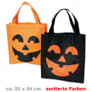 wholesale Toys: Bag Halloween,  assorted colors 22 x 24 cm