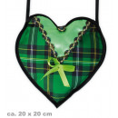 groothandel Handtassen: Zak Dirndl groen, ongeveer 20 x 20 cm