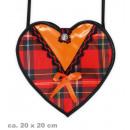 Großhandel Handtaschen: Tasche Dirndl rot, ca. 20 x 20 cm