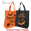Sac de Halloween, couleurs assorties ca. 29 x 34 x