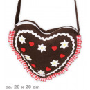Großhandel Handtaschen: Tasche Herz, ca. 20 x 20 cm