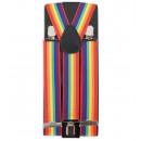 Großhandel Gürtel: Hosenträger bunt, regenbogenfarbig