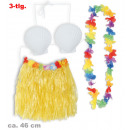Hawaii-set, 3  pcs., (Bastrock, BH, chain), approxi