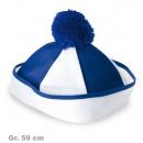 grossiste Jouets: Bobby Chapeaux,  bleu / blanc, Gr. 59 cm