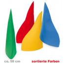 Zwergenmütze,  Filz, sortierte Farben, Gr. 58 cm