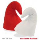 Mütze Mupfi, Filz,  sortierte Farben, Gr. 58 cm