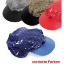 wholesale Headgear: Hat sequins, assorted colors
