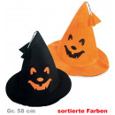 wholesale Toys: Witch hat,  assorted colors, Gr. 58 cm