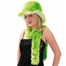 wholesale Headgear: Hat with scarf, assorted colors
