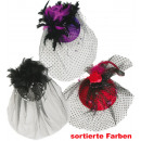 wholesale Hair Accessories: Fascinator Chic,  assorted styles, with hair clip