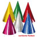 mayorista Regalos y papeleria: Parte sombreros, 6  piezas, colores surtidos