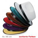 hurtownia Upominki & Artykuly papiernicze: Glitterhut, różne kolory, gr. 58 cm