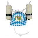 groothandel Stationery & Gifts: Helm Bavaria, met bier blikjeshouder