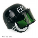 wholesale Other: FBI helmet, small,  movable visor, Gr. 58 cm