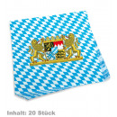 wholesale Household Goods: Napkins Bayern, Content: 20 pieces