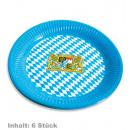 grossiste Cadeaux et papeterie: assiette Bayern, contenu: 8 pièces