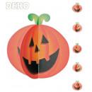 grossiste Décoration: Dekohänger Pumpkin  3D, 150 cm de longueur