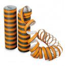 groothandel Stationery & Gifts: Streamers, zwart / oranje