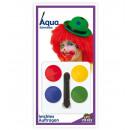 wholesale Toys: Aquaschmink set Clown, 10g SB