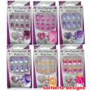 wholesale Nail Varnish: Luxury  fingernails, assorted designs