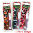Ongles Halloween, dessins assortis