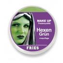 Etape maquillage MAKE UP horreur, sorcière-vert, 1